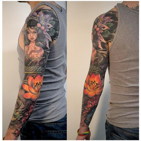 Tattoos - Full Sleeve - 109183