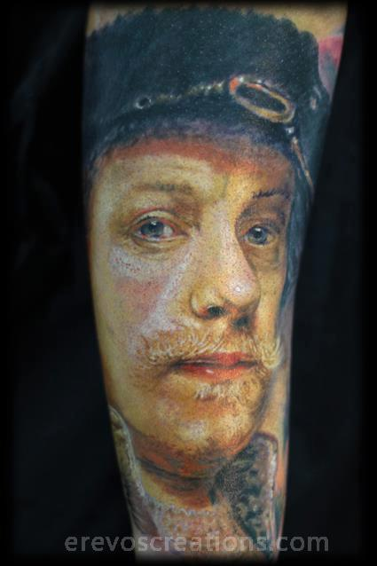 Tattoos - Rembrandt portrait! - 111462