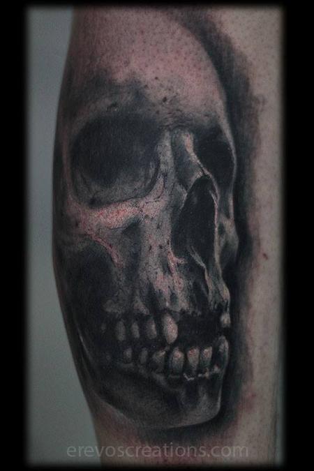Tattoos - skull - 116395