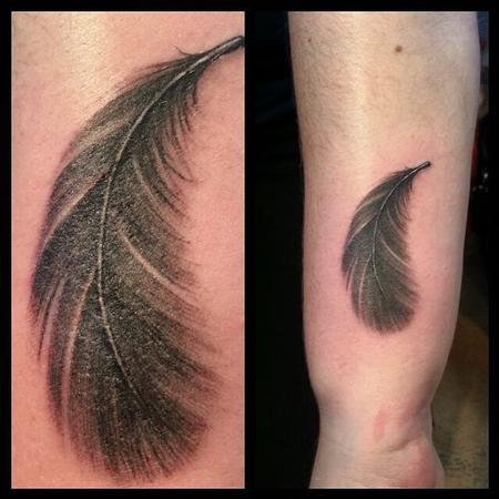 Punky - Feather Tattoo