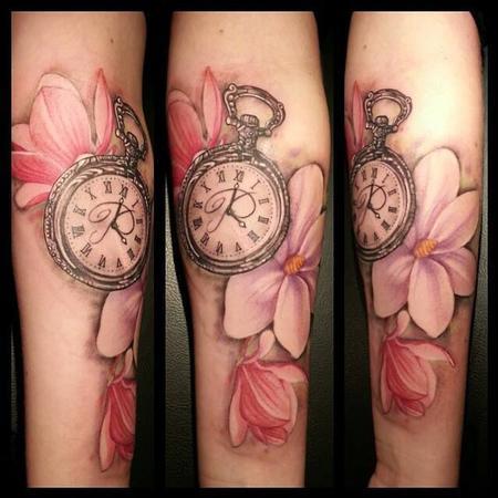 Tattoos - Timepiece Tattoo - 101280