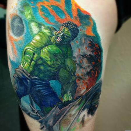 Tattoos - Incredible Hulk  - 106672