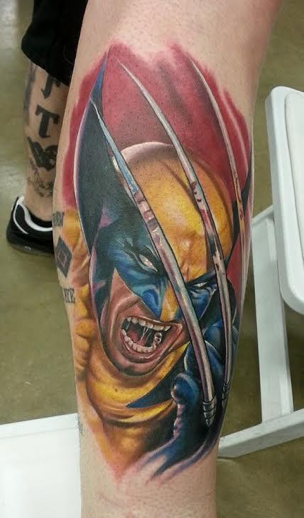 Tattoos - Wolverine - 114598