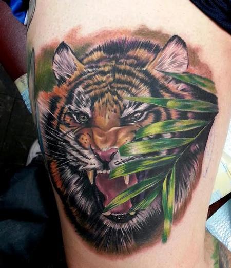 Tattoos - Tiger - 114594