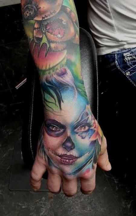 Tattoos - Clown Woman - 114600