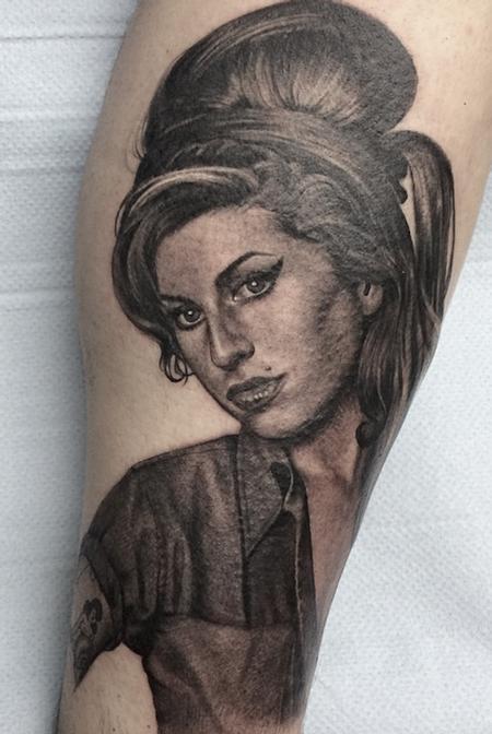 Sam Ford - Amy Winehouse portrait