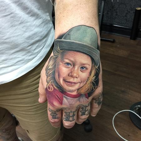 Tattoos - Child Portrait Tattoo - 113689