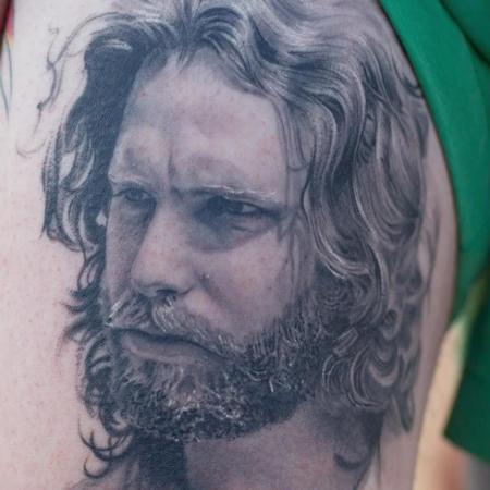 Sam Ford - Jim Morrison Portrait Details