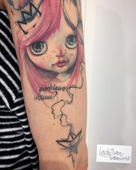 Tattoos - doll - 126333