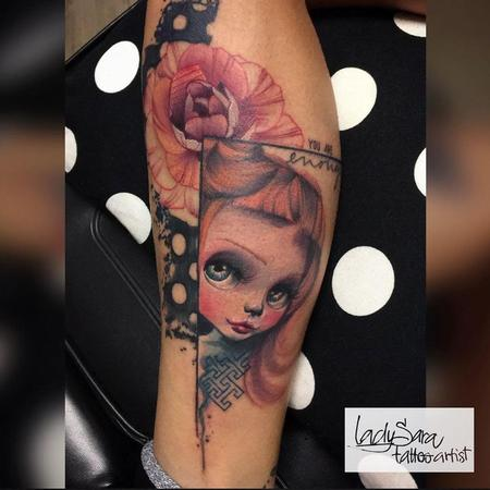 Tattoos - Doll Face  - 125570