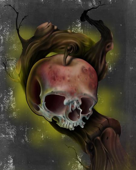 Simone Marchi - Apple skull