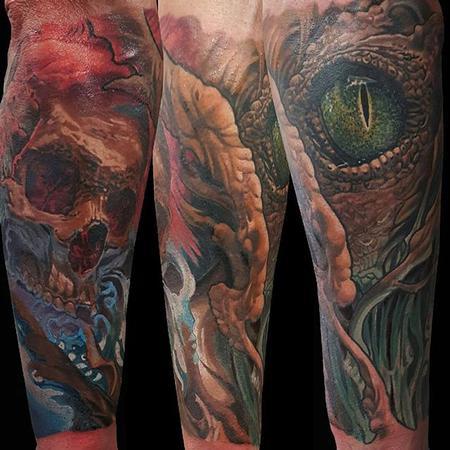 Tattoos - Bio underarm - 112129