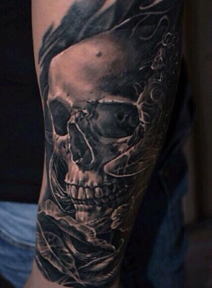 Tattoos - Skull - 111276