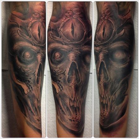 Tattoos - Third Eye Skull - 98948