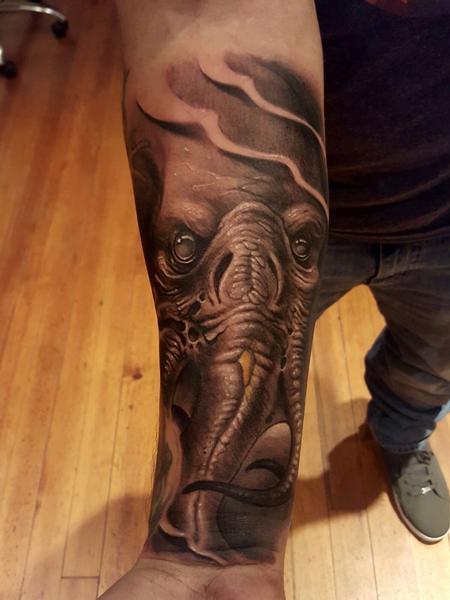 Tattoos - Litght tentacles - 123095