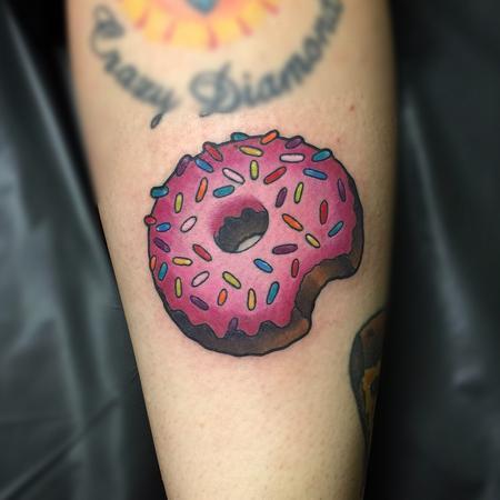Tattoos - tasty donut  - 116606