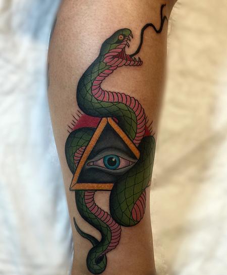 Tattoos - Snake Eyes - 116556
