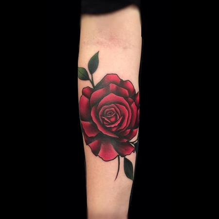 Tattoos - Dark Rose  - 116683