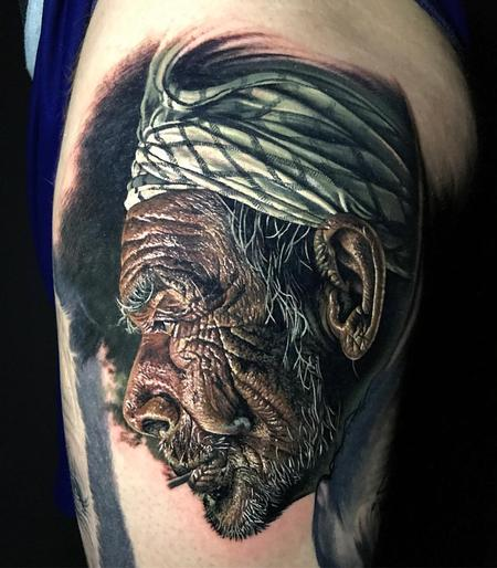 Tattoos - Realistic Portrait - 128667