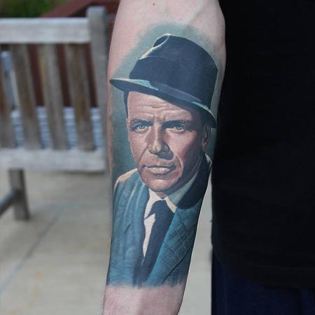 Tattoos - Frank Sinatra Tattoo - 116329