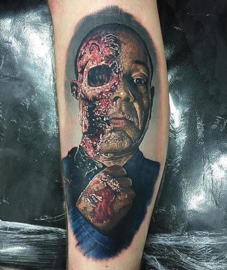 Tattoos - Walking Dead Zombie Tattoo - 116328