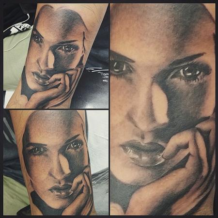 Tattoos - portrait in progress - 113751
