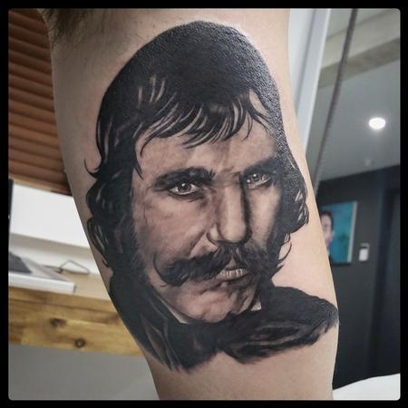 Tattoos - bill the butcher portrait - 113756