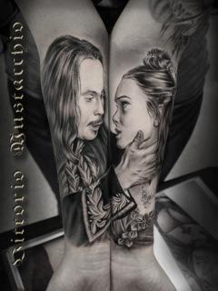 Tattoos - Romantic Couple - 98953