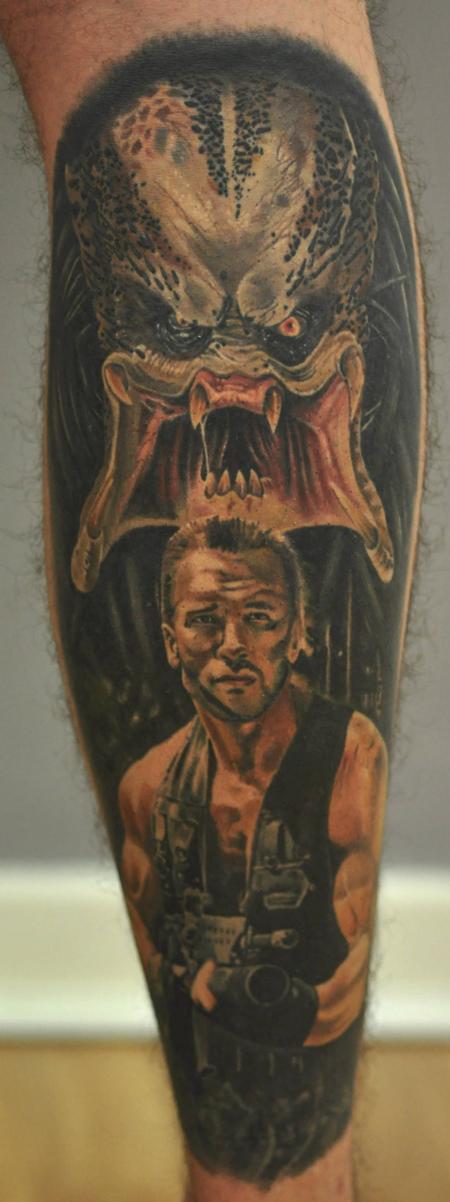 Tattoos - Predator & Arnie - 122800
