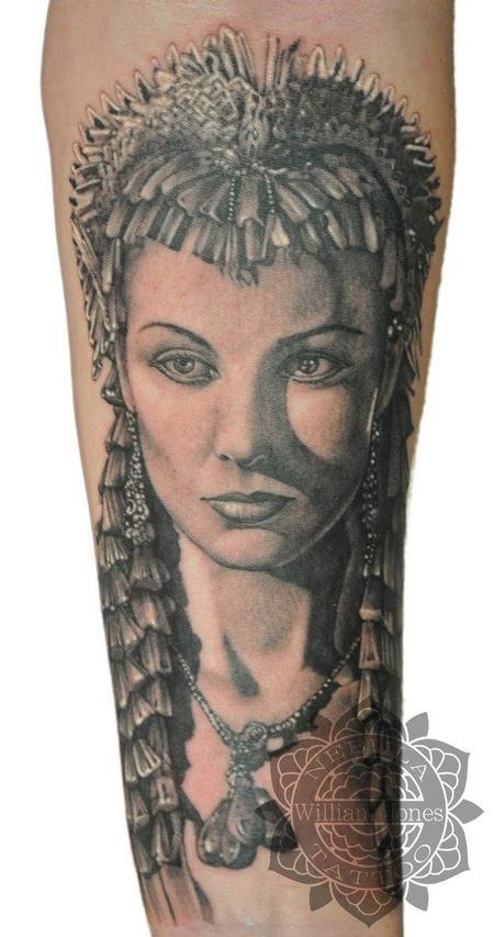 Tattoos - Cleopatra - 122802