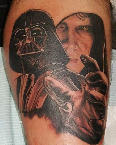 Tattoos - Force Choke - 122137