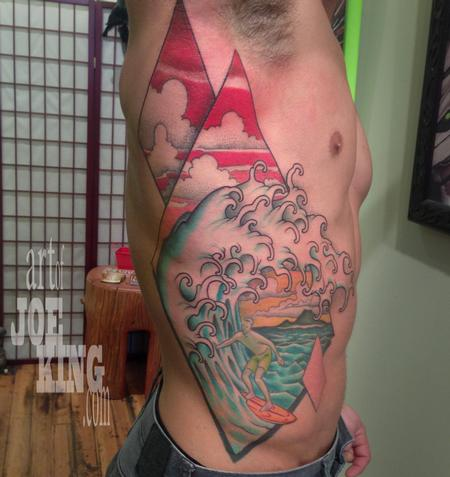 Tattoos - Surfing the perfect wave - 103934