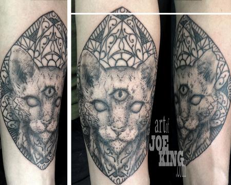 Tattoos - Third Eye Cat - 108385