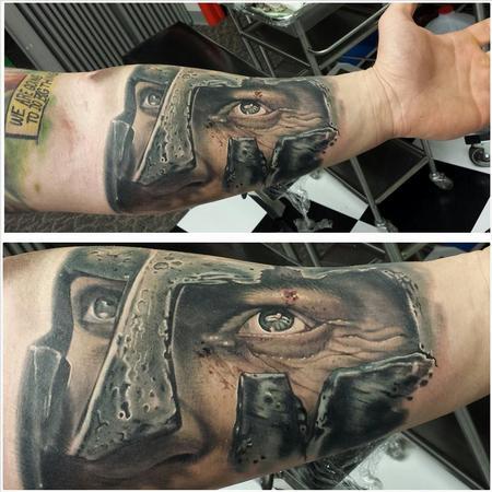 Tattoos - spartan 300 ernesto nave - 86830