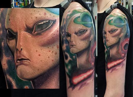 Tattoos - alien grey ernesto nave - 86819