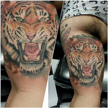 Tattoos - tiger ernesto nave - 86825