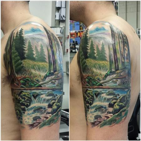 Tattoos - nature landscape ernesto nave - 86827