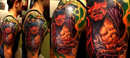 Tattoos - samurai - 62600