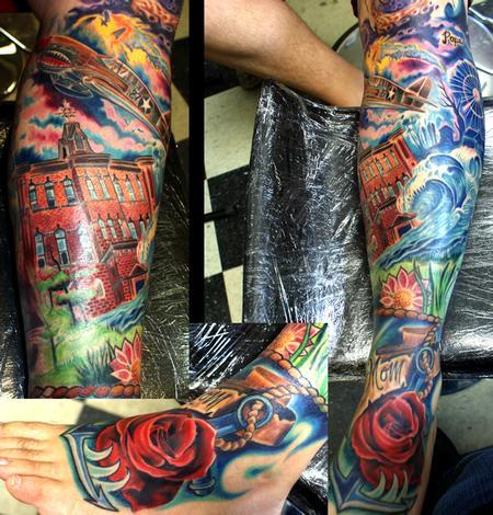 Tattoos - memory lane - 60449