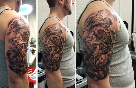 Tattoos - angel devil ernesto nave - 86817