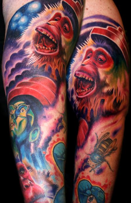 Tattoos - devo monkeys - 59782