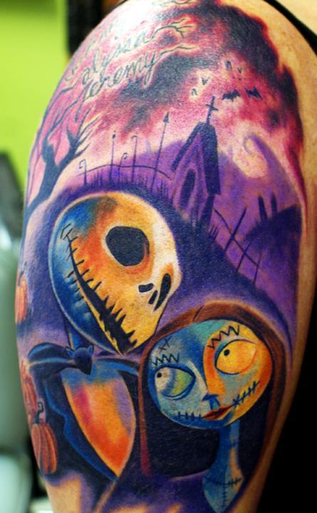 Tattoos - jack and sally - 60446