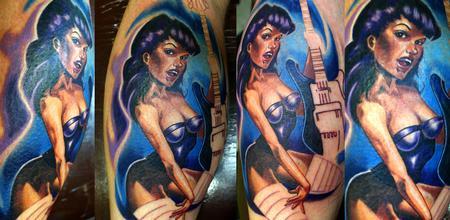 Tattoos - pinup in progress - 60444