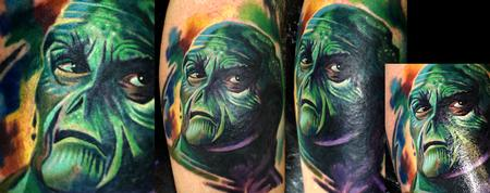 Tattoos - first sit with swamp thing - 60915
