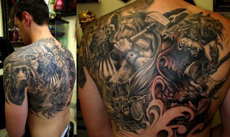 Tattoos - viking - 68852