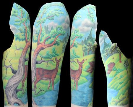 Tattoos - Alyssa landscape - 82427