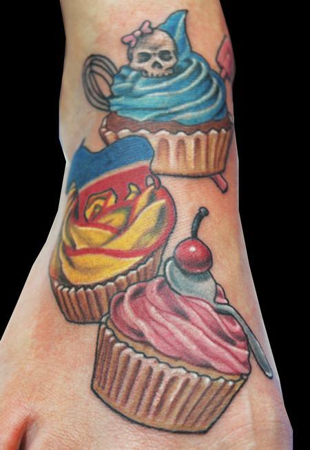 Tattoos - cupcakes - 71775