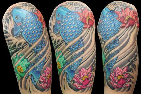 Tattoos - Paul's Koi - 71915