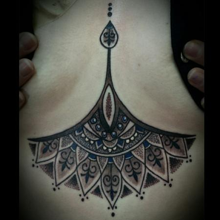 Tattoos - Mandala inspired chest piece - 114810