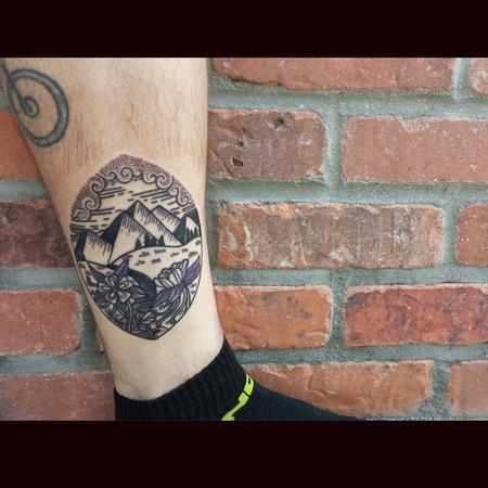 Tattoos - Illustrative Colorado Tattoo - 114805